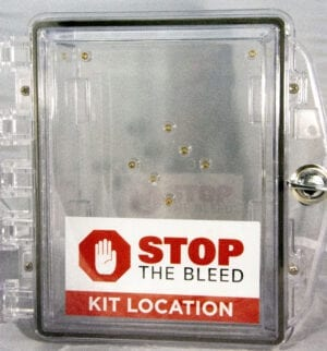 Stop the bleed wall case